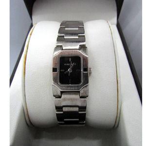 Nine West Brushed Nickle Silver Wrist Watch